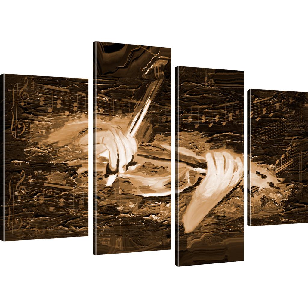 bilder geige wandbild musik bilder auf leinwand musiknoten. Black Bedroom Furniture Sets. Home Design Ideas