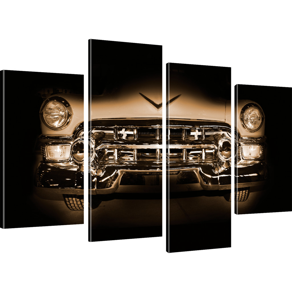 oldtimer auto bilder auf leinwand retro wandbild pkw. Black Bedroom Furniture Sets. Home Design Ideas