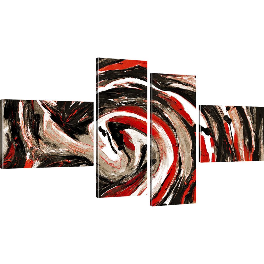 Abstrakte pferde bilder bild auf leinwand abstraktion - Abstrakte wandbilder ...