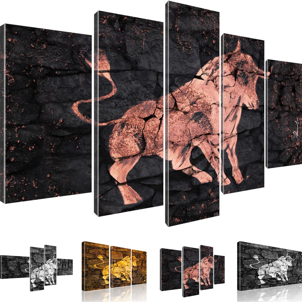 stier stierkampf corrida kunstdruck leinwand bilder ebay. Black Bedroom Furniture Sets. Home Design Ideas