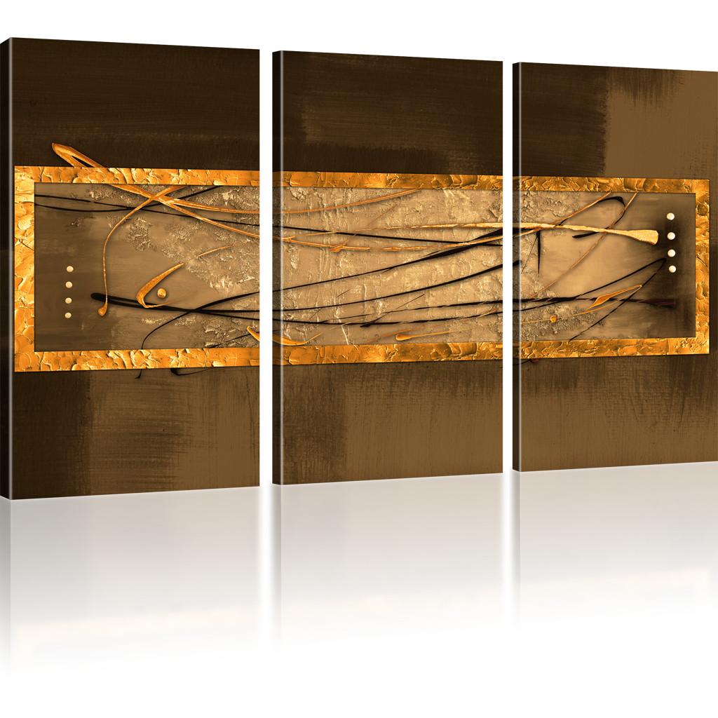bilder abstrakte streifen wandbild auf leinwand abstrakt. Black Bedroom Furniture Sets. Home Design Ideas