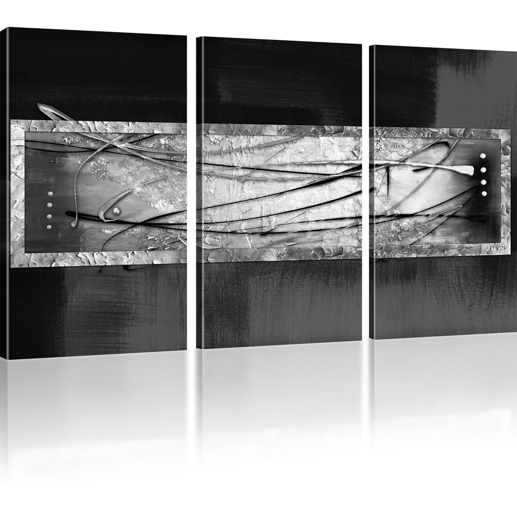 bilder abstrakte streifen wandbild auf leinwand abstrakt viele varianten ebay. Black Bedroom Furniture Sets. Home Design Ideas