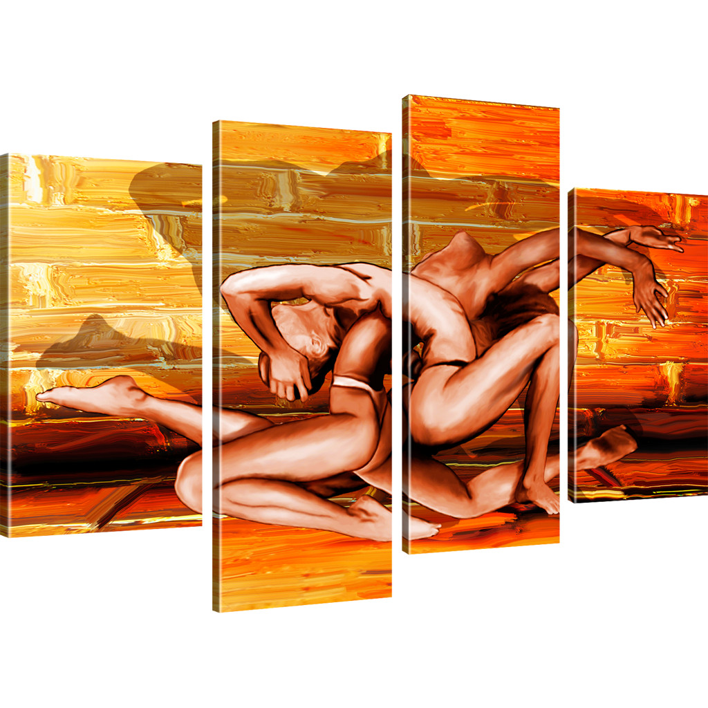 Wandbilder abstrakte erotik bilder auf leinwand ebay - Abstrakte wandbilder ...