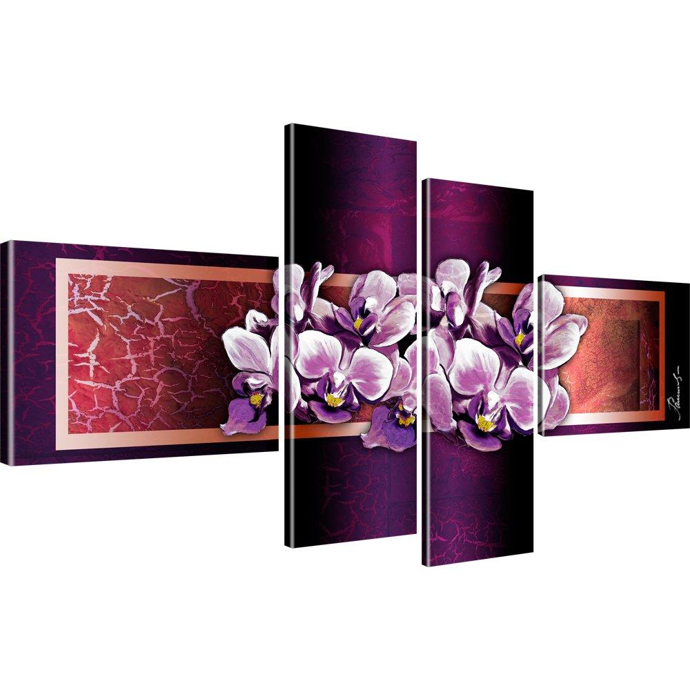 Bilder blumen wandbilder orchidee leinwandbilder ebay - Leinwandbilder bestellen ...