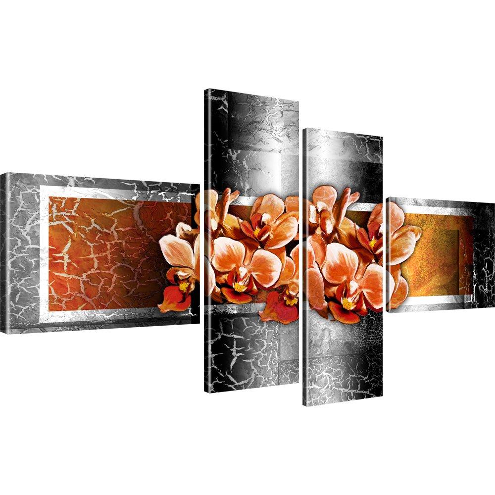 Bilder blumen wandbilder orchidee leinwandbilder ebay for Bilder wandbilder