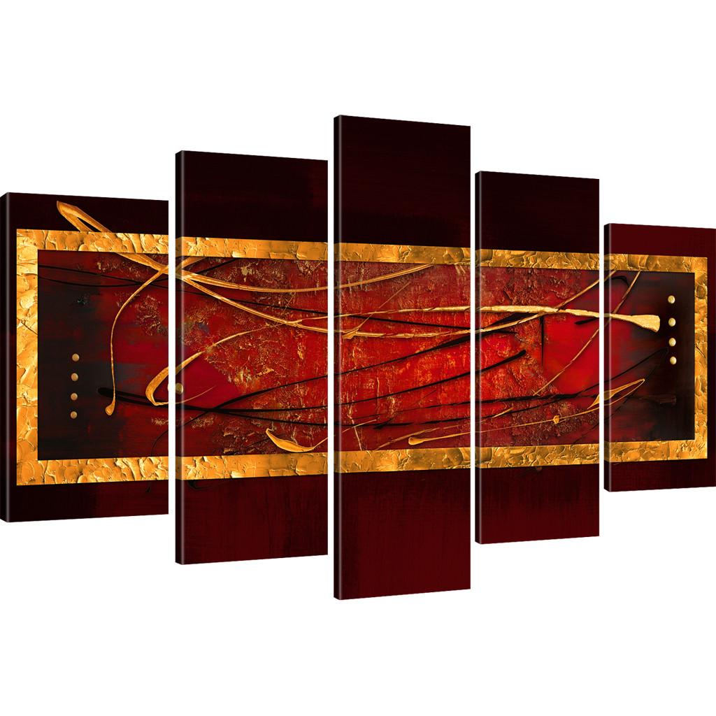 Bilder abstrakte streifen wandbild auf leinwand abstrakt viele varianten ebay - Abstrakte bilder leinwand ...